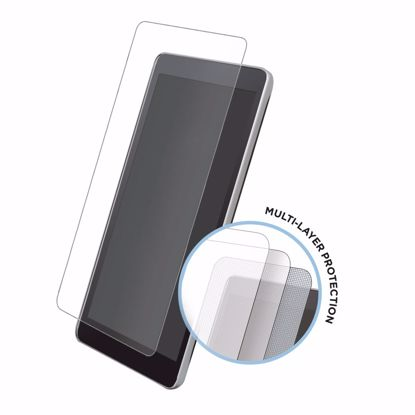 Picture of Eiger Eiger Tri Flex High-Impact Film Screen Protector (2 Pack) for Samsung Galaxy A9 (2018) in Clear