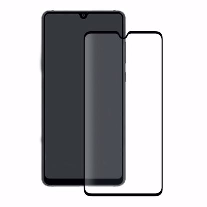 Picture of Eiger Eiger 3D GLASS Full Screen Tempered Glass Screen Protector for Huawei Mate 20 in Clear/Black