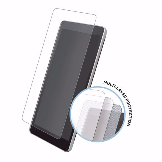 Picture of Eiger Eiger Tri Flex High-Impact Film Screen Protector (2 Pack) for Samsung Galaxy A7 (2018) in Clear