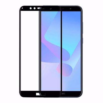 Picture of Eiger Eiger 3D GLASS Tempered Glass Screen Protector for Huawei Y6/Y6 Prime (2018) in Clear/Black