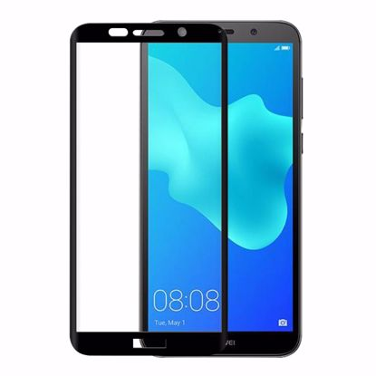 Picture of Eiger Eiger 3D GLASS Full Screen Tempered Glass Screen Protector for Huawei Y5 (2018) in Clear/Black
