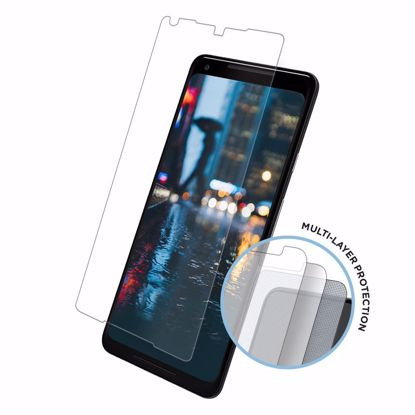 Picture of Eiger Eiger Tri Flex High-Impact Film Screen Protector (2 Pack) for Google Pixel 2 XL in Clear