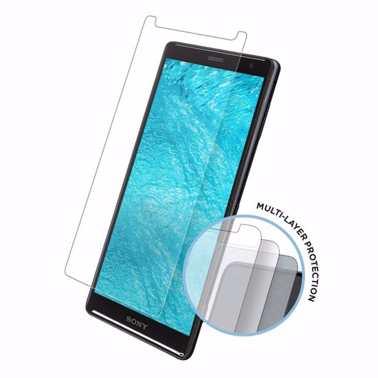 Picture of Eiger Eiger Tri Flex High-Impact Film Screen Protector (2 Pack) for Sony Xperia XZ2 in Clear
