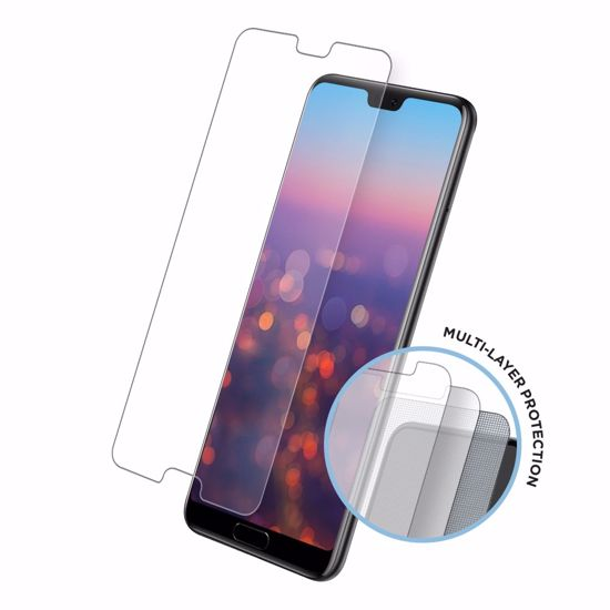 Picture of Eiger Eiger Tri Flex High-Impact Film Screen Protector (2 Pack) for Samsung Galaxy A8 (2018) in Clear