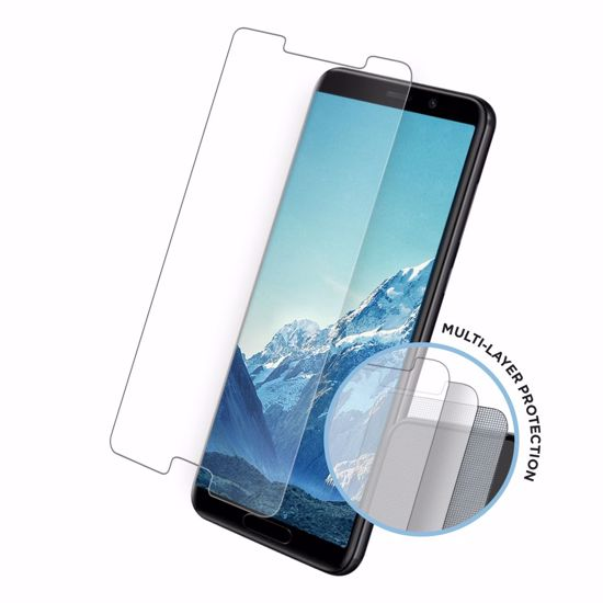 Picture of Eiger Eiger Tri Flex High-Impact Film Screen Protector (2 Pack) for Huawei Mate 10 in Clear