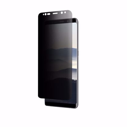 Picture of Eiger Eiger 3D Privacy GLASS Tempered Glass Screen Protector for Samsung Galaxy Note 8