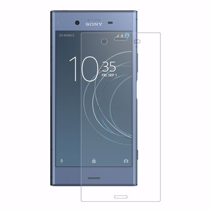 Picture of Eiger Eiger 3D GLASS Full Screen Tempered Glass Screen Protector for Sony Xperia XZ1 in Clear
