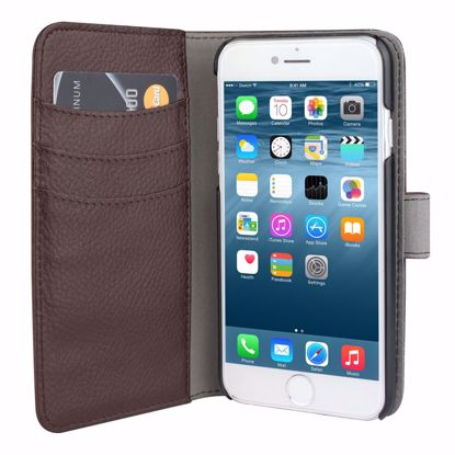 Picture of Redneck Redneck Duo Wallet Folio with Detachable Slim Case for Apple iPhone 6/6s in Brown for Online