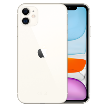 Picture of Apple iPhone 11 64GB White (MWLU2B)