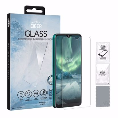 Picture of Eiger Eiger GLASS Tempered Glass Screen Protector for Nokia 7.2 in Clear