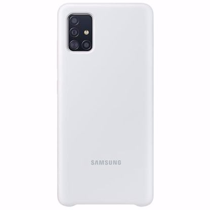 Picture of Samsung Samsung Silicone Cover for Samsung Galaxy A51 in White