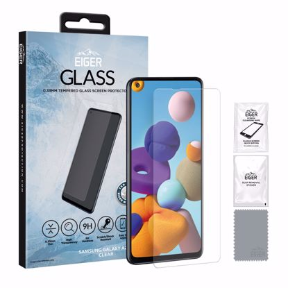 Picture of Eiger Eiger GLASS Tempered Glass Screen Protector for Samsung Galaxy A21s in Clear